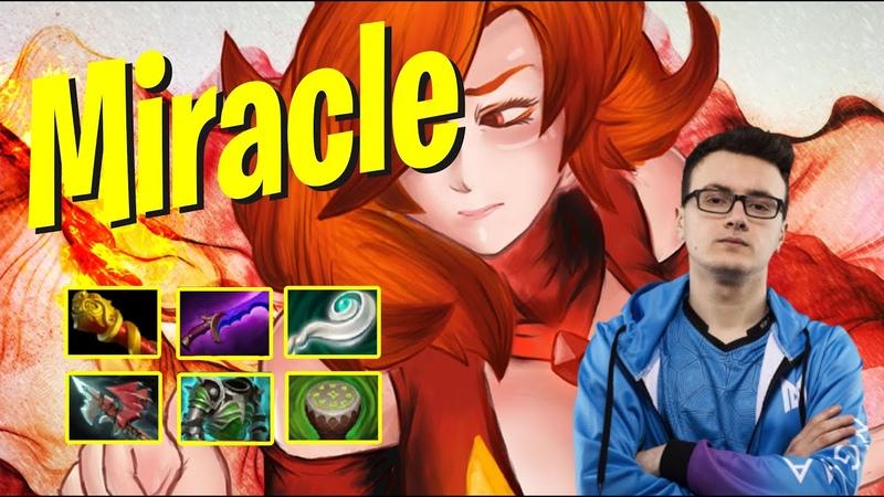 Miracle - Lina | EZ HITTER BUILD | Dota 2 Pro Players Gameplay | Spotnet Dota 2