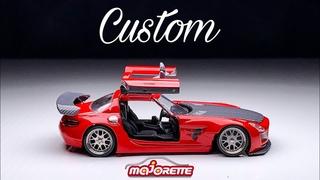 Mercedes Benz SLS Majorette Custom