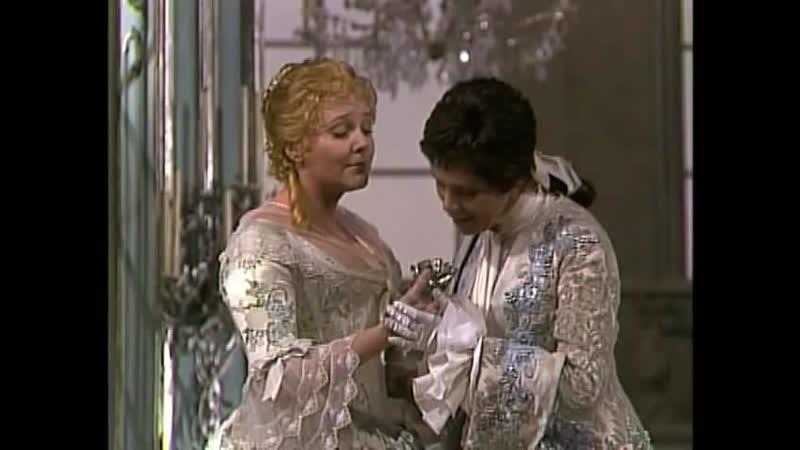 Lucia Popp and Brigitte Fassbaender in Der Rosenkavalier