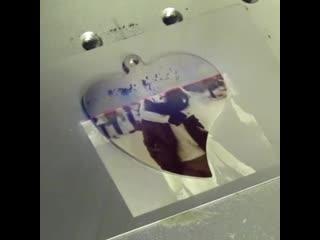 Лазерная фото гравировка на брелоках