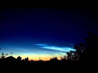Noctilucent cloud / Серебристые облака