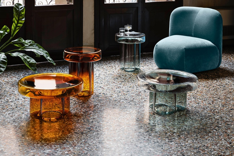 Тренды 2020/2021: стеклянные столы Янниса Гикаса, изображение №2