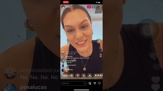 JESSIE J Live on Instagram July 14,2020