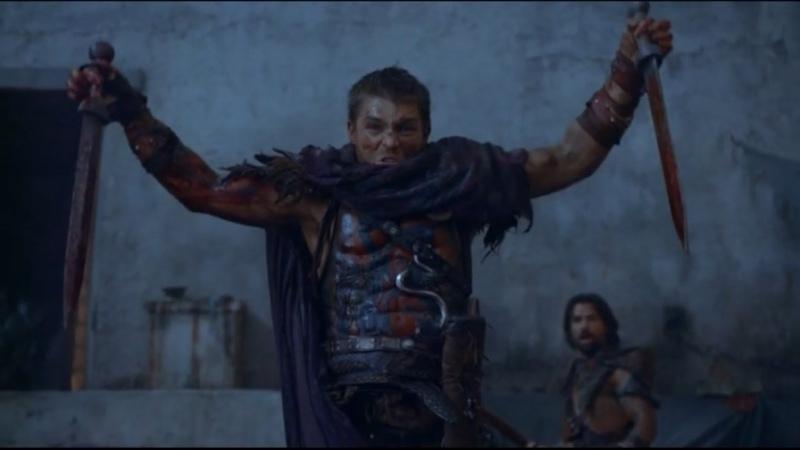 Спартак Война проклятых Штурм города римлянами