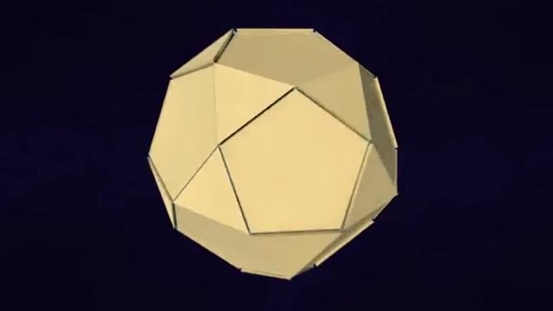 Двойственность додекаэдра и икосаэдра