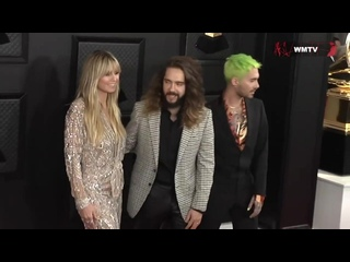 Grammy Awards: Kaulitz Twins and Heidi Klum at the Red Carpet -