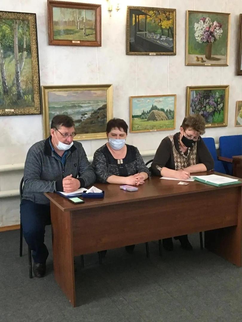 Общественный совет района провёл очередное заседание