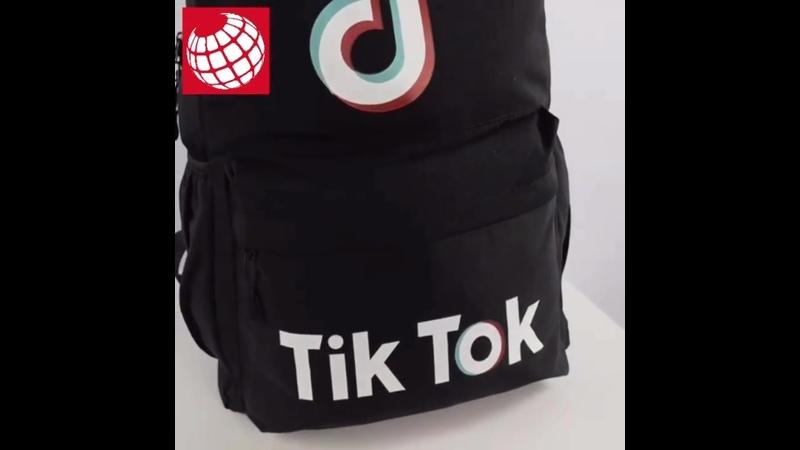 Рюкзак TikTok 😱 Платформа TikTok обрела популярность и вместе с этим множество фанатов! Этот рюкзачок поможет Вам оставаться