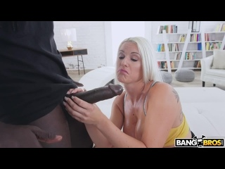 [BangBros] Blanche Bradburry - Her First Anal Monster Cock NewPorn2021