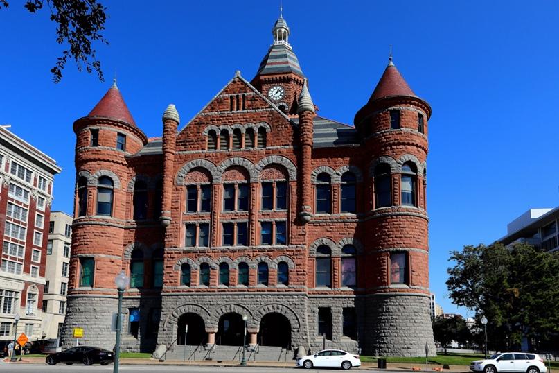 Старое красное здание суда, 1892 год, Даллас, Техас
