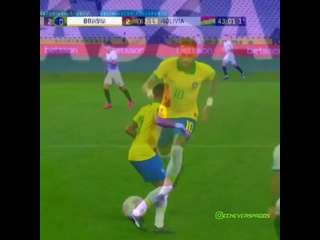 Неймар против Боливии. 🔥🇧🇷