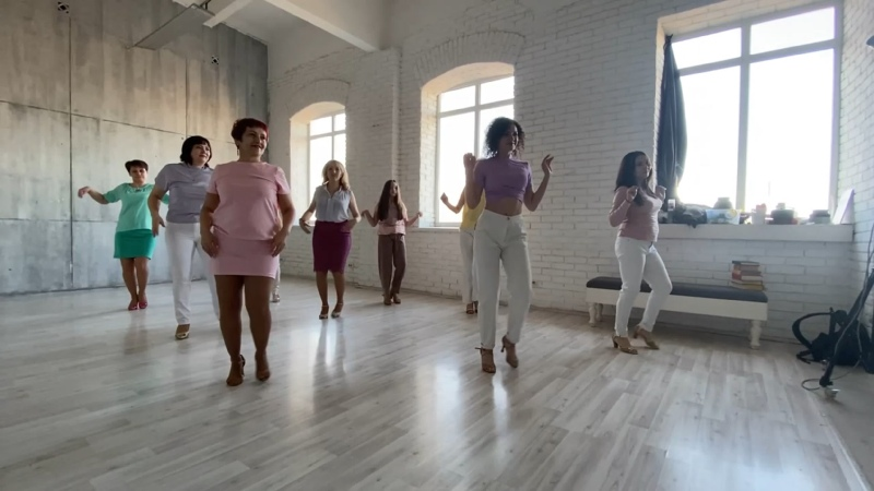 Bachata Lady's Style Дарья Танцы в Нефтекамске 🎶Hecha Pa Mi Vinny Rivera y Dj Tony Pecino