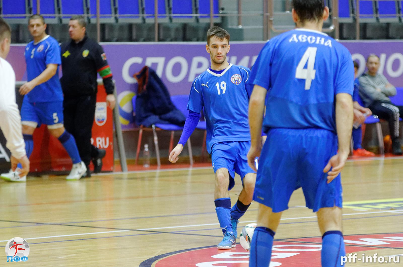 «Десна» стала единоличным лидером Чемпионата Подольска по мини-футболу
