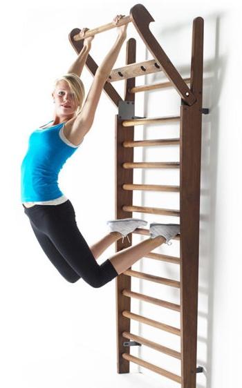 Выбираем шведскую стенку для развития всех мышц