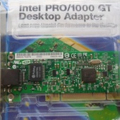 Сетевая карта Intel PWLA8391GT 1Gbit PCI