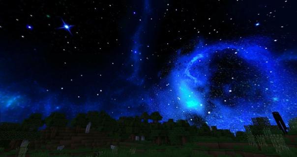 текстуры красивый космос небе для майнкрафт #1