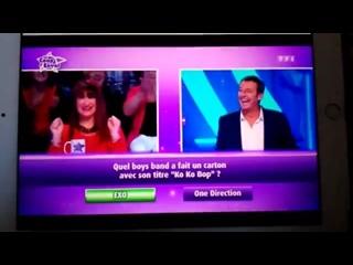 171028 Вопрос о EXO появляется на французском игровом шоу
