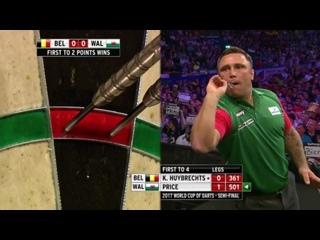 Belgium vs Wales (PDC World Cup of Darts 2017 / Semi Final)