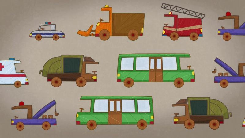 #МАШИНКИ - Почтовый фургон (32) - Мультики для детей