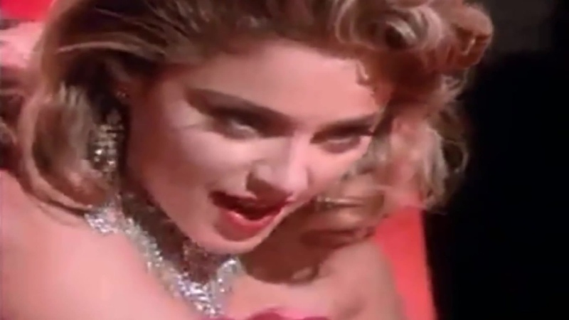 Madonna Material Girl Меркантильная Девушка Official Video 1985 HD
