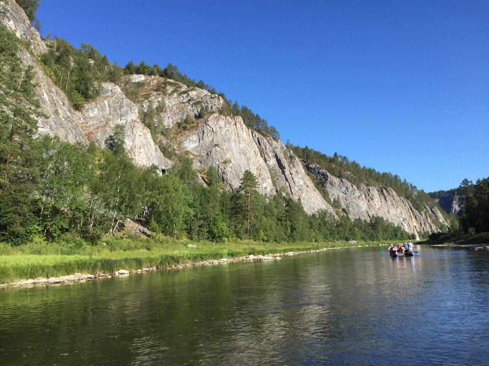 Афиша Уфа Сплав по реке Белая 12-14 июня