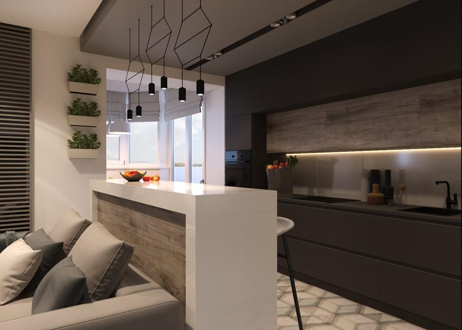 Дизайн-проект квартиры 50 м.