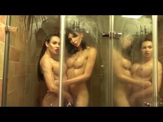 Kimberlee And Bailee Paris - In Little Shower