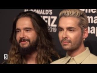Buntе: Kaulitz Twins and Georg Listing at McDonald's Benefitzgala -