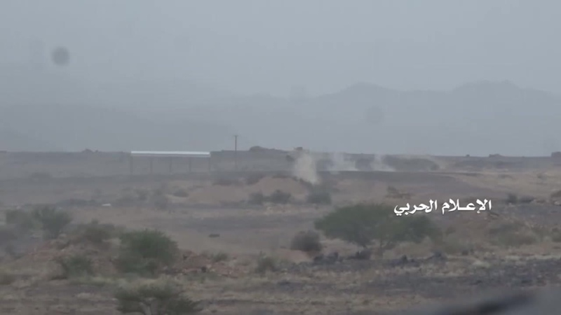 Хуситы обстреливают хадистов в районе Кония, Бейда.