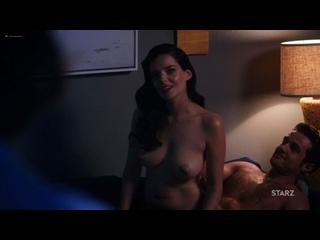 """Роксана Мескида (Roxane Mesquida nude scenes in """"Now Apocalypse"""" s01e01 2019)"""