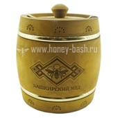 Мед «Бочонок деревянный морилка » (обруч) 2,0 кг