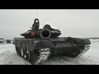 Российские танкисты разгромили условного противника в Кемеровской области