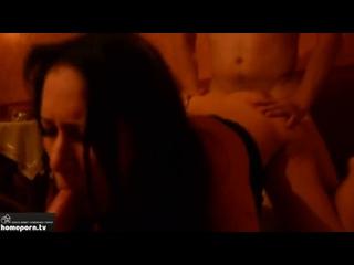 Обработали тёлку двумя членами (порно, секс, трах, минет, анал, жёстко, отсос, сиськи, групповуха, оргия, вписка)