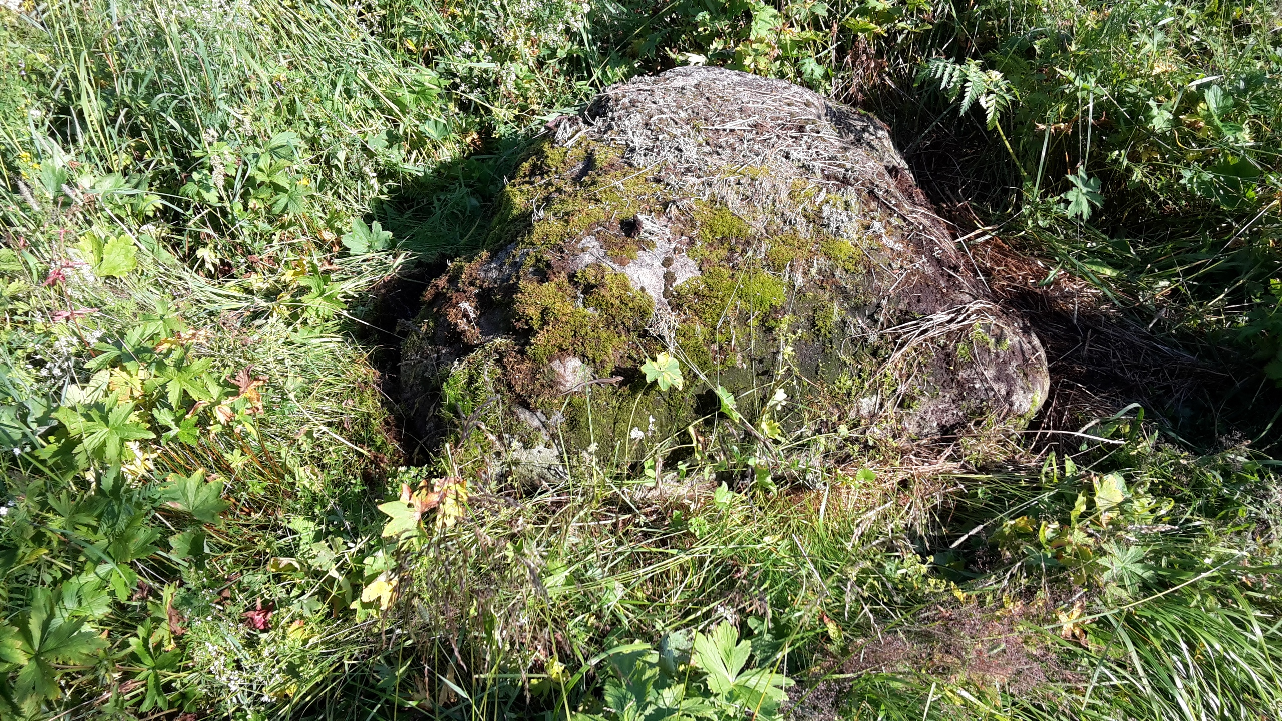 Святой камень возле деревни... Мало кто знает,