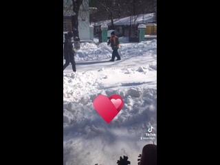 Когда убрал весь снег в Керчи