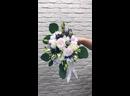 Нежный свадебный букет для👰🏽 💐 Состав Роза Пионовидная кустовая Роза Эустома Гвоздика Лимониум Хлопок Эвкалипт 2000₽