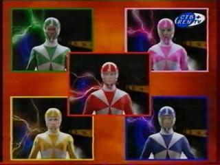 Power Rangers: Time Force / Могучие Рейнджеры: Патруль времени (СТВ+REN TV, 2006) Фрагмент