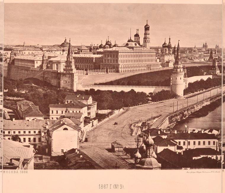 Москва без людей в 1867 году. Где все люди?, изображение №21