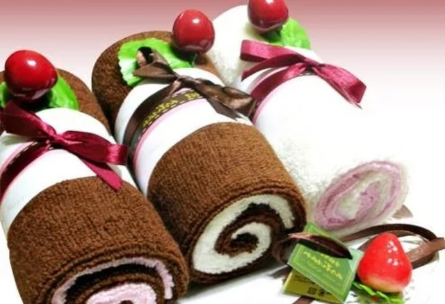 как красиво свернуть полотенце для подарка мастер-класс пошагово,