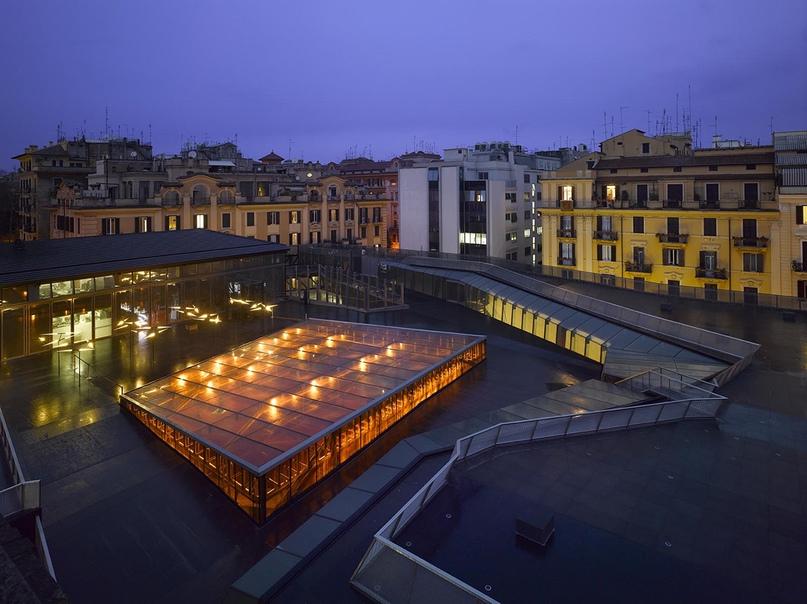 2010: Музей современного искусства MACRO , новое крыло, Рим, Италия.