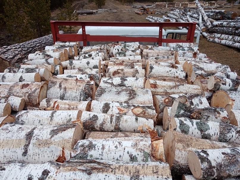 Купить березовые дрова чурбаками   Объявления Орска и Новотроицка №29081
