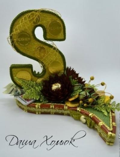 Цветок лотоса из конфеты и гофрированной бумаги. МК, как сделать цветы из конфет, конфетные цветы своими руками, лотос из конфет, как сделать букет из клнфет,