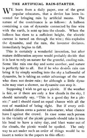 17-19 века: технологии создания искусственного дождя и снега, изображение №9