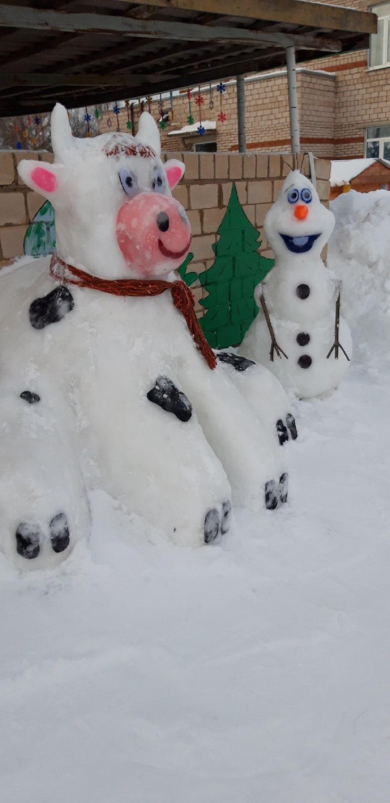 В Большекибьинском детском саду сказка из ледяных