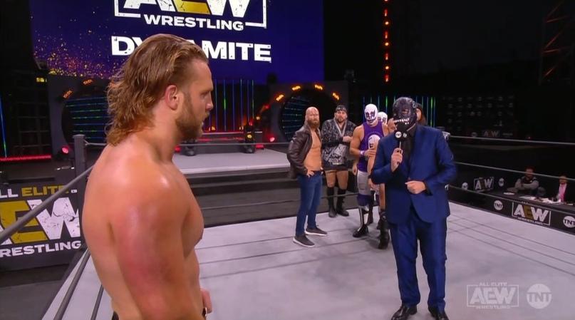 AEW Dynamite и NXT 25.11.20, изображение №1