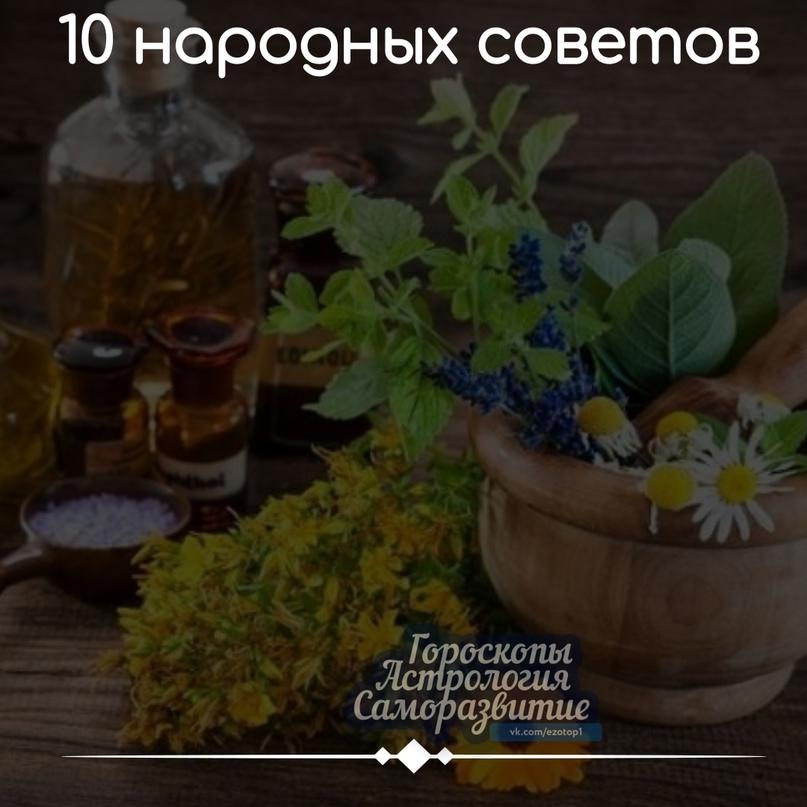 10 НАРОДНЫХ CОВEТОВ