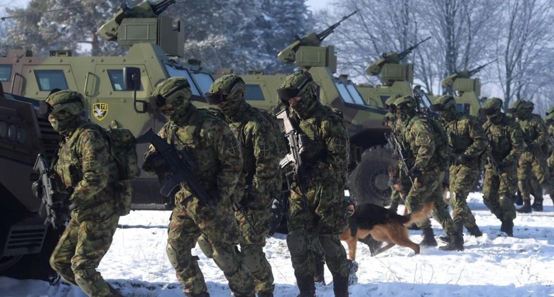 Спецназ сербской армии