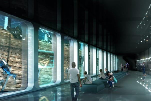 В Амстердаме планируют ипостроить необычный музей вокруг голландского корабля, затонувшего в 1749 году у берегов Англии