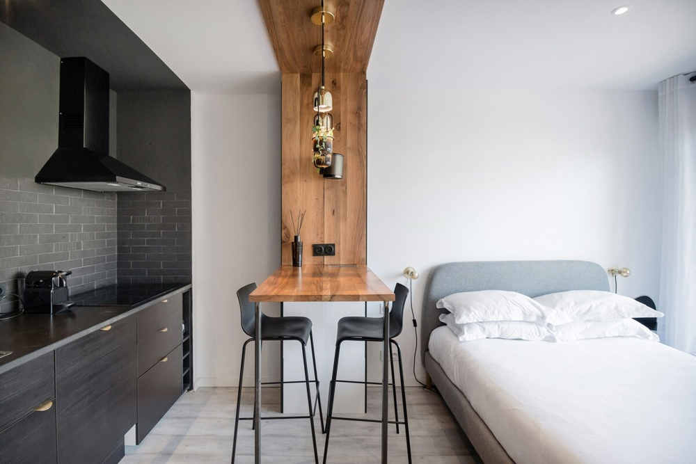 Маленькая французская квартира-студия 22 кв.