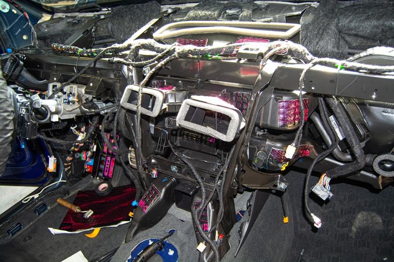 Комплексная шумоизоляция Audi Q5, изображение №35
